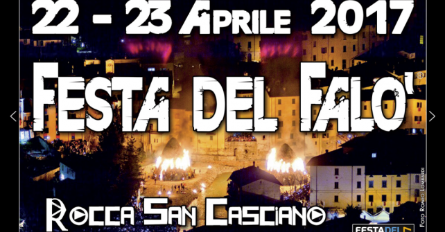 Festa del falò a Rocca San Casciano